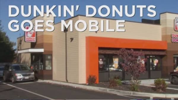 Dunkin' may go mobile