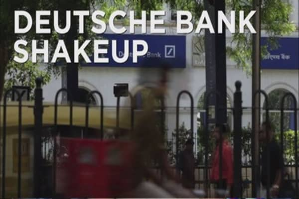 Deutsche Bank investors optimistic