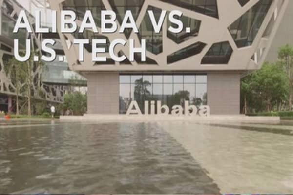Alibaba taking aim at US tech