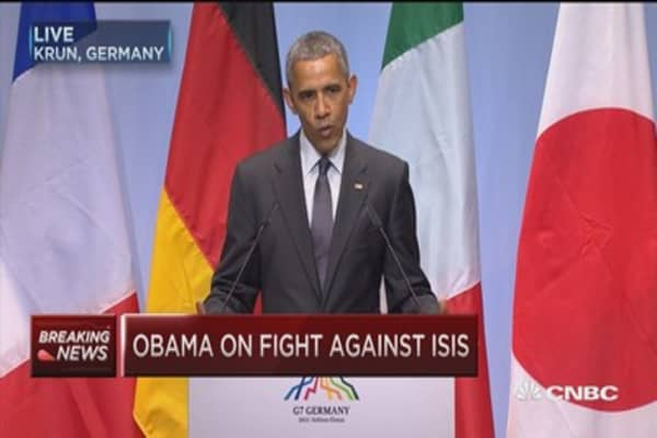 Obama: Significant progress in fight vs. ISIS