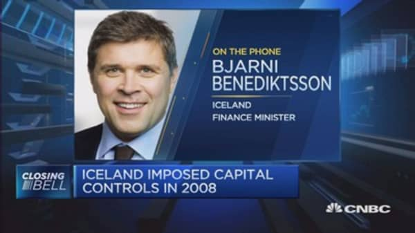 Iceland prepares to lift capital controls
