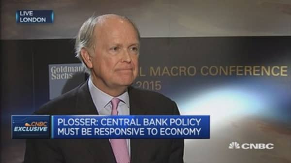 The IMF wants to be central bankers: Plosser