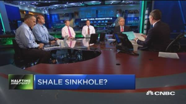 Is shale oil drilling a Ponzi scheme?