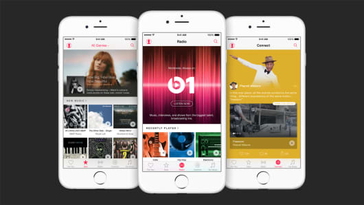 Apple Music screens