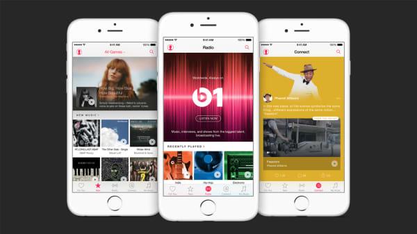 Apple Music screens