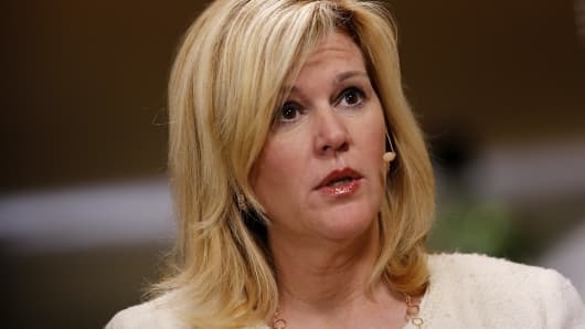 Meredith Whitney, a banking analyst and chief executive officer of Meredith Whitney Advisory Group.