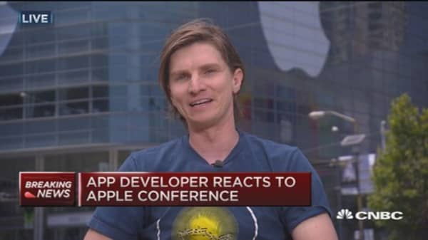 'Fruit Ninja' creator: Apple providing opportunity for smoother integration
