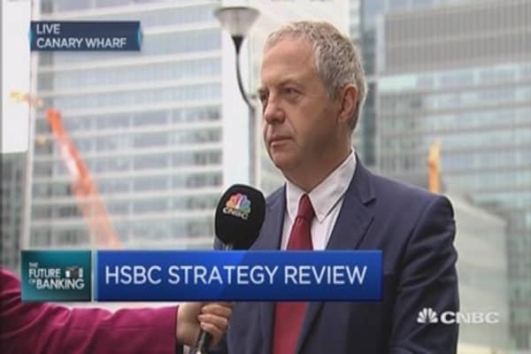 HSBC to cut 25,000 jobs, slash billions from costs