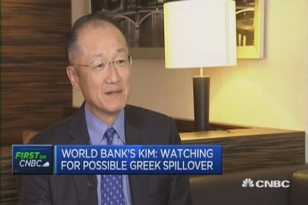 Greek deal must get done soon: World Bank