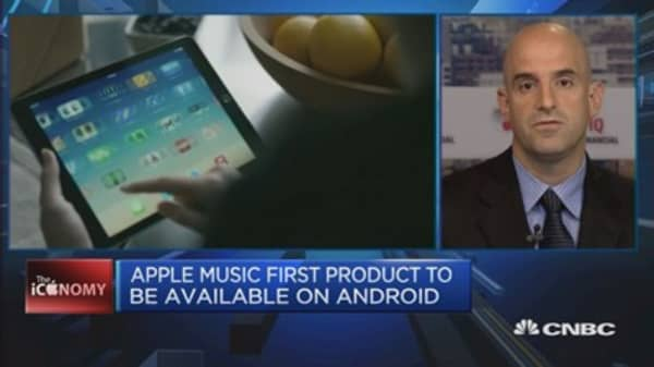 Apple music: Just catching up with competitors?