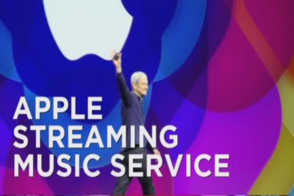 Apple unveils its music streaming service