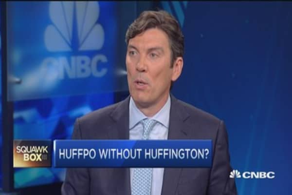 Arianna wants to grow HuffPo: Tim Armstrong