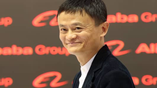 Alibaba Group Executive Chairman Jack Ma.