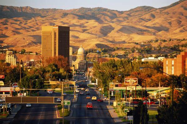 Eagle is just outside of Boise, Idaho