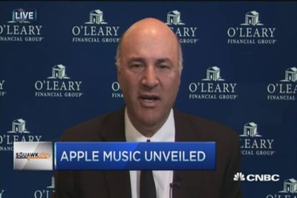 Apple Music a big nothing: O'Leary