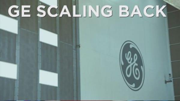 GE cuts finance arm