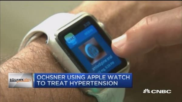 Apple Watch, just what the doctor ordered...