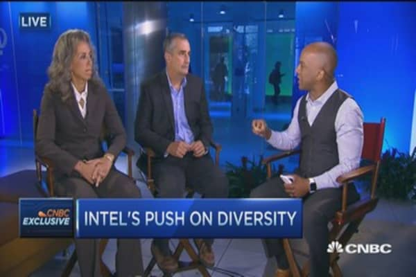 Intel CEO: Products better with diverse outlook