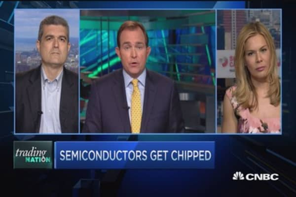 Trading Nation: Semiconductors get chipped