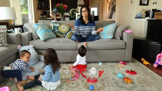 YouTube star Judy Travis is a busy 29-year-old mother of three. She still gets things done.