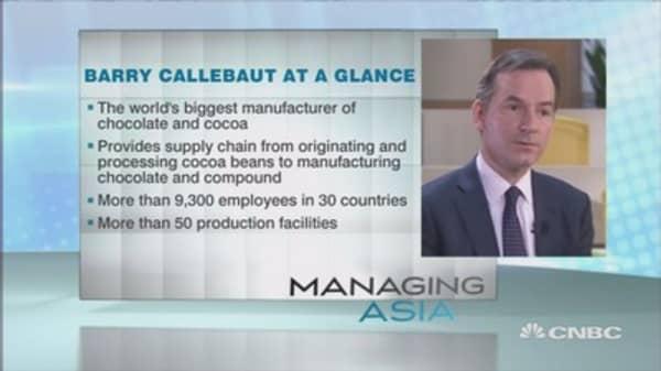 Barry Callebaut's recipe for success