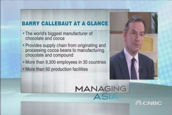 Barry Callebaut's recipe for success