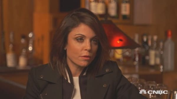 Bethenny Frankel on reality TV: 'It's why I'm here'