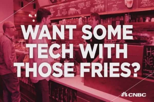 Want some tech with those fries?