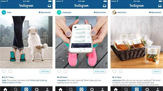 Instagram is among several platforms offering clickable ads to purchase opportunities.