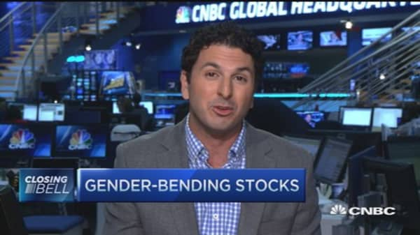 Gender-bending stocks