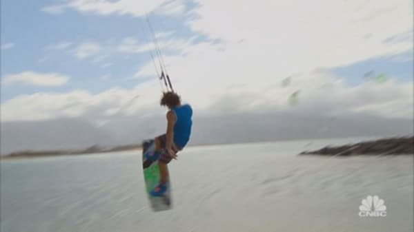 Want to Make it in Tech? Learn to Kiteboard
