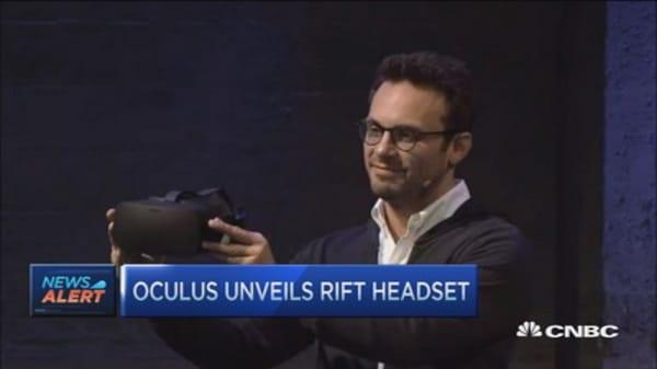 Oculus Rift unveils consumer headset
