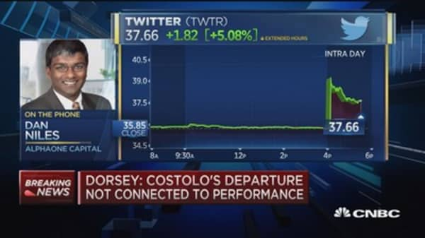 Twitter takeout target?