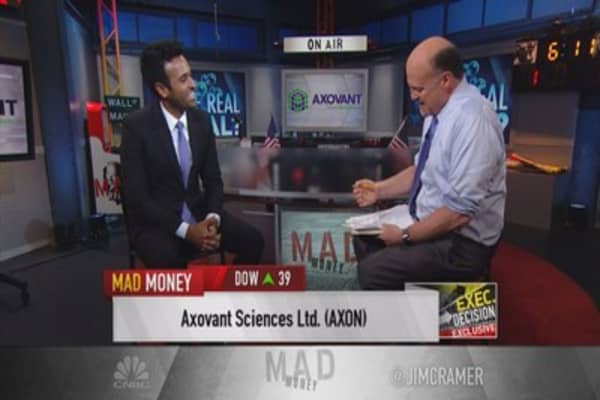 Axovant CEO: Focused on treatment of Alzheimer's