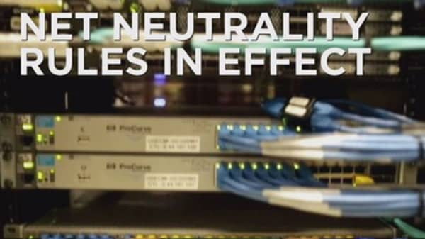 Net neutrality rules go into effect