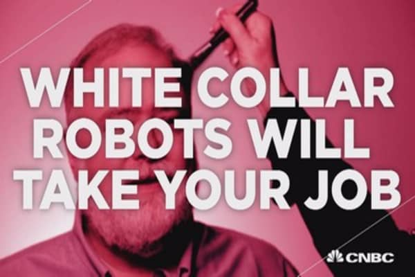 White collar robots will take your job