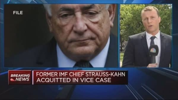 Dominque Strauss-Kahn acquitted of pimping charge