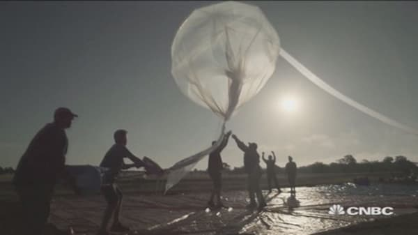 Project Loon: Google's Internet project