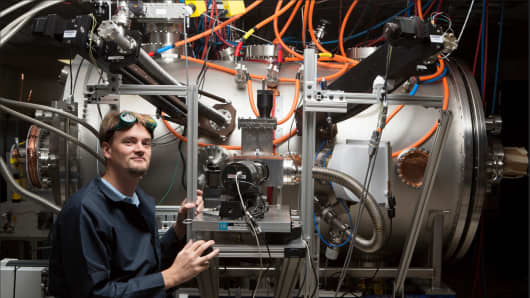 Tom McGuire is the head of the compact fusion research team at Lockheed Martin's Skunk Works.