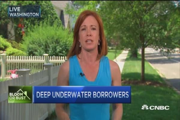 8 million borrowers are underwater