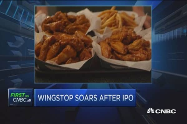 Buffalo Wild Wings not competition: Wingstop CEO