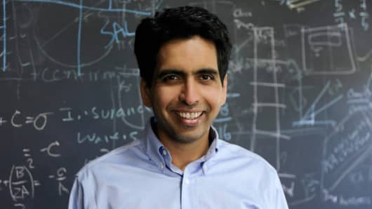 Sal Khan, founder and CEO of the Khan Academy