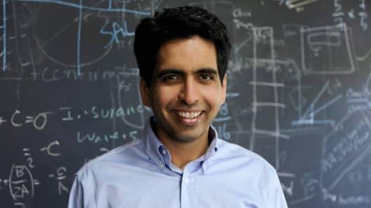 Sal Khan, founder and CEO of the Khan Academy