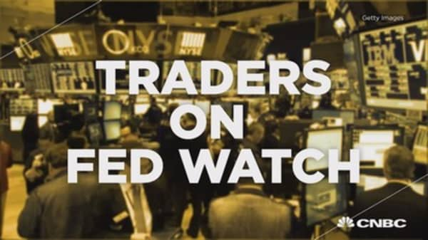 Traders on Fed watch