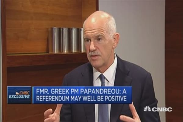 Greeks want to stay in EU: Former Greek PM