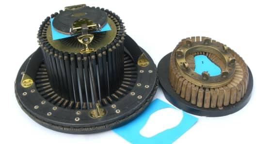 A 'Conformateur': A specialist hatter's measuring device