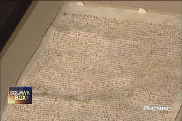 Magna Carta celebrates 800th anniversary