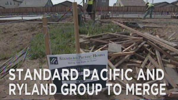 Standard Pacific and Ryland Group merge