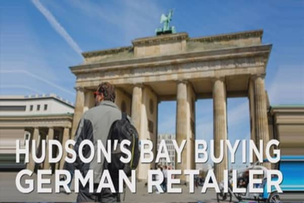 Hudson's Bay buys Galeria Kaufhof