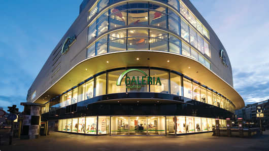 Kaufhof department store in Frankfurt, Germany.
